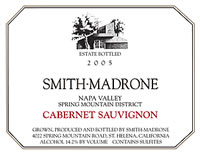 Label Courtesy of Smith-Madrone